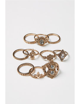 Pack De 10 Anillos by H&M
