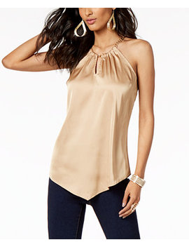 Chain Neck Halter Top, Created For Macy's by Thalia Sodi