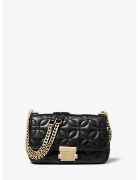 Sloan Small Floral Quilted Leather Shoulder Bag by Michael Michael Kors