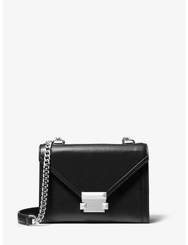 Whitney Small Leather Convertible Shoulder Bag by Michael Michael Kors