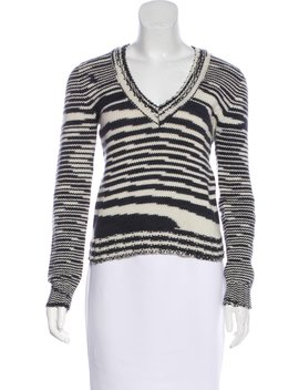 Cashmere V Neck Sweater by Missoni