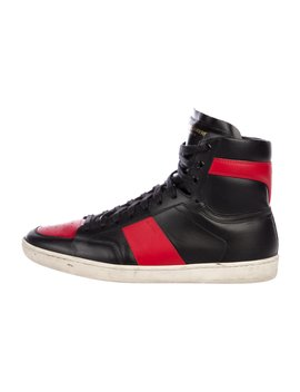 Sl/10 H High Top Sneakers by Saint Laurent