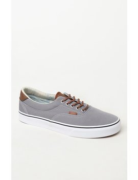 Vans C&L Era Gray Shoes by Pacsun