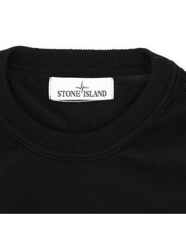 Crewneck Knitwear Black by Stone Island