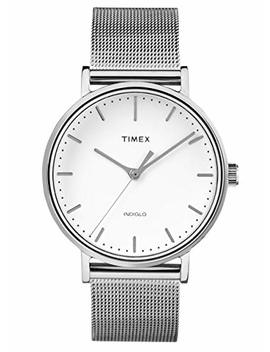 Timex Fairfield Mesh Bracelet Unisex Watch 37 Mm Tw2 R26600 by Timex
