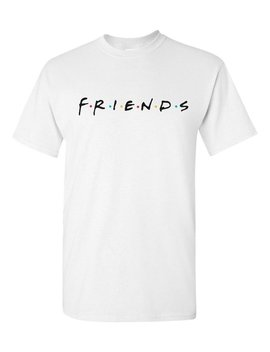 Friends 90's Famous Tv Show T Shirt Classic Childhood Throwback Tee by Etsy
