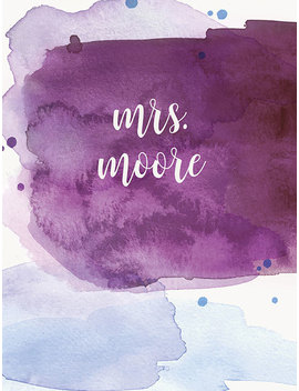Watercolor Splash   Teacher Lesson Plannerviewed by Erin Condren