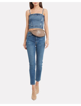 Denim Corset Look Top by Re/Done