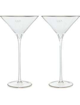 Two Pack Celebrate Cocktail Glasses 225ml by Lsa International