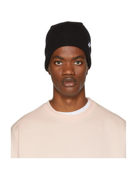 Black Merino Beanie by Norse Projects