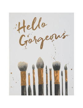 Hello Gorgeous Make Up Brushes 51x40cm by