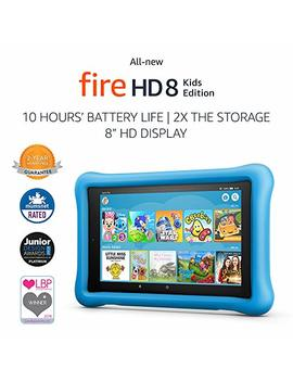 "All New Fire Hd 8 Kids Edition Tablet, 8"" Hd Display, 32 Gb, Blue Kid Proof Case by Amazon"