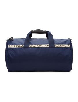 Blue Maybellene Gym Bag by A.P.C.