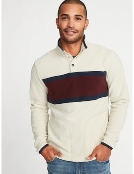 Micro Performance Fleece Color Blocked Pullover For Men by Old Navy