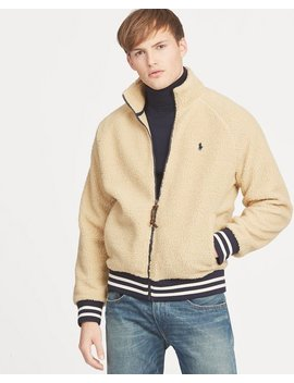 Fleece Track Jacket by Ralph Lauren