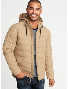 Quilted Cotton Hooded Jacket For Men by Old Navy