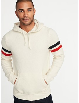 Built In Flex Sleeve Stripe Sweater Hoodie For Men by Old Navy