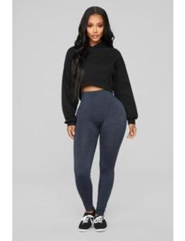 Best I Ever Had Seamless Leggings   Navy by Fashion Nova
