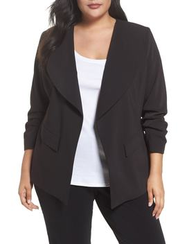 Drape Neck Jacket by Sejour