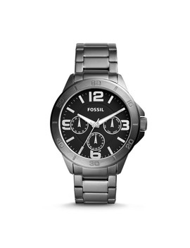 Modern Century Multifunction Smoke Stainless Steel Watch by Fossil