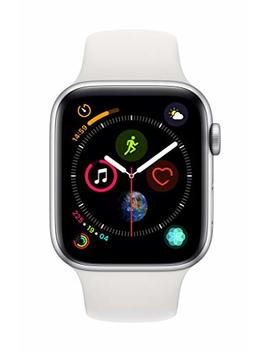 AppleWatch Series4 (Gps+Cellular, 44mm)   Silver Aluminium Case With White Sport Band by Apple