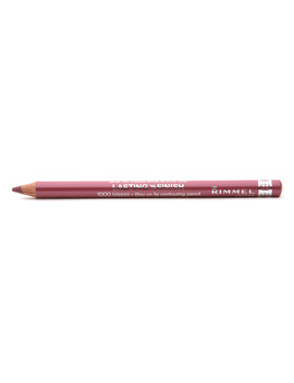 Rimmel 1000 Kisses Lasting Finish Stay On Lip Contouring Pencil,Mauve Shimmer1.0 Ea by Walgreens