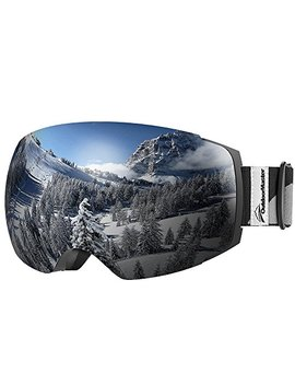 Outdoor Master Ski Goggles Pro   Frameless, Interchangeable Lens 100 Percents Uv400 Protection Snow Goggles For Men & Women by Outdoor Master
