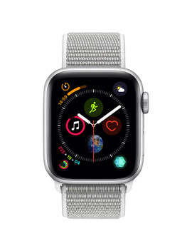Apple Watch Series 4 (Gps) 40mm Silver Aluminium Case With Seashell Sport Loop by Apple