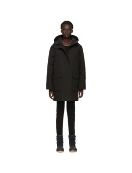 Black Down Canmore Parka by Canada Goose