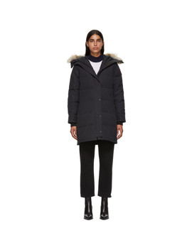 Navy Shelburne Down Parka by Canada Goose