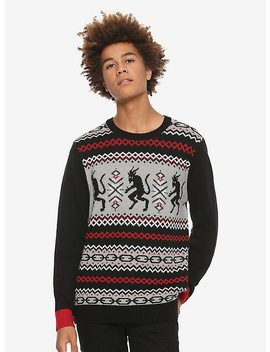 Krampus Chains Fair Isle Sweater by Hot Topic