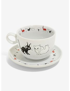 Studio Ghibli Kiki's Delivery Service Cup & Saucer Set by Hot Topic