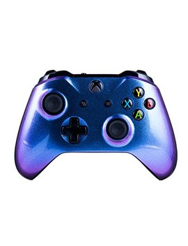 Xbox One S Wireless Controller For Microsoft Xbox One   Color Changing Chameleon X1   Custom Design For A Unique Look   Multiple Colors Available by Crazy Controllerz