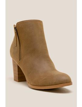 Fergalicious Ciello Distressed Ankle Boot by Francesca's
