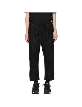 Black Limited Edition Arc Taos Trousers by Abasi Rosborough