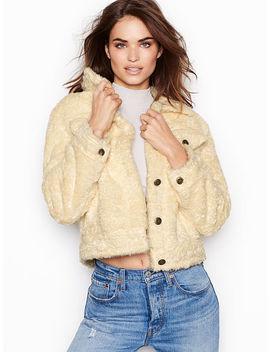 New! Sherpa Jacket by Victoria's Secret