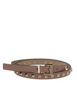 Valentino Garavani Belt Valentino Rockstud 1.5 Cm Wide Belt With Multi Metal Studs by Valentino Garavani