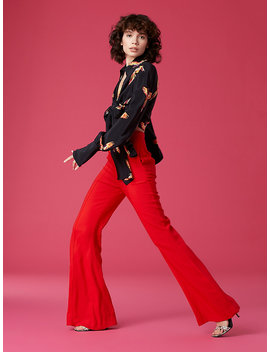 High Waisted Flare Pant&Nbsp; by Dvf