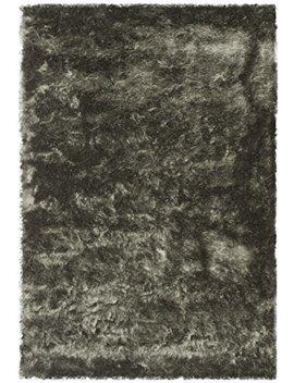 Safavieh Paris Shag Collection Sg511 8383 Titanium Polyester Area Rug (3' X 5') by Safavieh