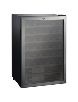 Whirlpool 40 Bottle 4.5 Cu. Ft Wine Refrigerator   Stainless Steel Jc 133 Ez by Whirlpool