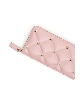 Valentino Candystud Zip Around Wallet by Valentino