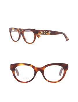 48mm Rounded Optical Frames by Gucci