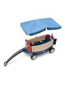 Little Tikes Deluxe Ride &Amp; Relax Wagon With Umbrella &Amp; Cooler by Kohl's