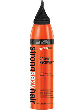 Strong Sexy Hair Active Recovery Repairing Blow Dry Foam by Sexy Hair