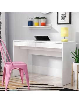 Zipcode Design Aliyah 2 Drawer Writing Desk & Reviews by Zipcode Design