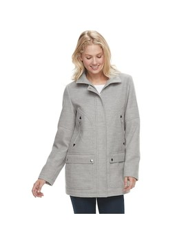 Women's D.E.T.A.I.L.S Hooded Knit Jacket by Kohl's