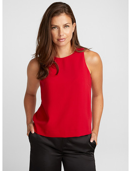 Minimalist Cropped Camisole by Contemporaine
