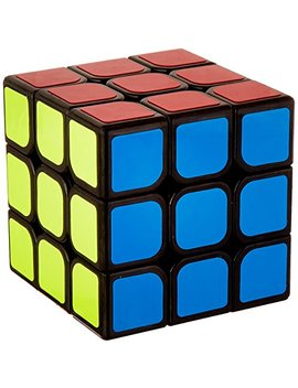 Mo Yu Yj Aolong 3 X 3 X 3 Black Speed Cube Puzzle by Mo Yu