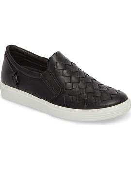 Eco Soft 7 Woven Slip On Sneaker by Ecco