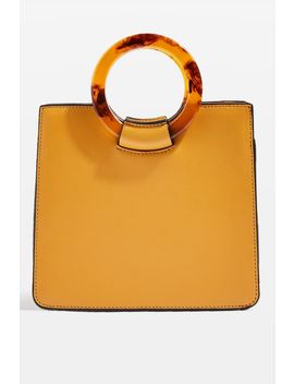 Adele Mini Tortoiseshell Grab Bag by Topshop